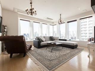 Luxurious family stay at 3 bedroom ap, Chuo