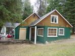 Payette Lake Cabin with Private Dock and Sandy Beach.