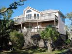Ocean Views and a Private Dock on Scott Creek, Edisto Island
