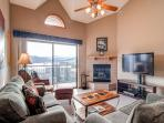 Lake Forest Penthouse 2BR Views Fireplace WIFI Garage Frisco Lodging