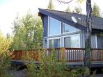 Club Cabin - 2 Bedrooms, 1 Bath Modern Cabin. Sleeps 6. WIFI and Satellite TV.