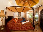 Master Bedroom with King bed and ocean view