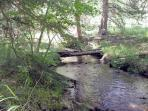 Put Your Feet In Horse Creek With A Fishing Pole And Relax