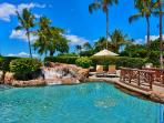 Beach Front Adult Infinity-Edge Heated Swimming Pool and Jacuzzi set Directly on Wailea Beach