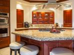 E202 Ocean Pearl Fully Equipped Gourmet Kitchen with Gas Cooktop, Espresso Maker, A Full Complement of Kitchen...