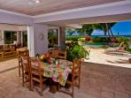 Covered Outdoor Casual Dining and BBQ Area