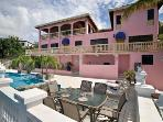 US Virgin Islands Villa - The Pink Colonial
