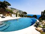 French Riviera Villa Rental in South of France Walking Distance to the Beach - Villa Panorama