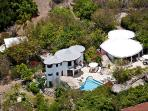 Deluxe villa with white sand beach access. MAV OTR
