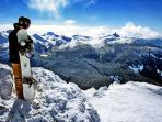 Views of the Black Tusk from Whistler Mountain.