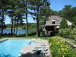 676 - Beautiful Waterfront home with a Pool