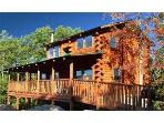 Log Cabin with views and privacy; Near Dollywood