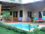 Casa Trogon pool and outdoor living area