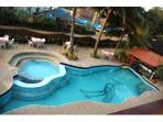 Paid access swimming pool
