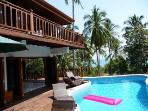 Villa opens to Sundeck and Private Swimming Pool