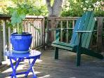 Private deck perfect for sipping wine - one of four decks. Plenty of space to get away!