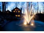 Romantic Fountains all over the property.