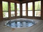 One of the Resort's two indoor hot tubs