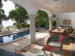 Los Primos is the best ocean front villa w/pool, in a secure gated community