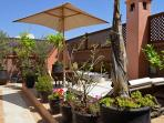 Marrakech Riad sun terrace