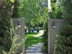 enjoy gated seclusion - bring the dogs and children and let them run free!