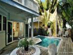 Key Escape - Gorgeous 3 BR Home w/ Private Waterfall Pool - 1 Block To Duval