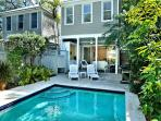 'ISLAND OASIS'  Luxury 2 BR 2 Bath Townhome w/ Pvt Heated Pool & Pvt Parking