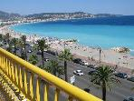 APARTMENT WITH BEST VIEW ON PROMENADE  DES ANGLAIS