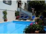 4 apartments in 17th Century Villa with pool