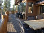 Alternate View of Outdoor Back Deck
