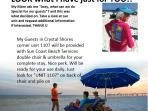 CRYSTAL SHORES, SPECIAL APRIL $988 7days total