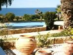 Self Catering Seaview Apartment in Paphos, Cyprus