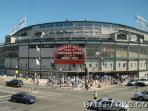 Wrigley Field.  Home of the Chicago Cubs