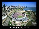 Soldier Field.  Home of Chicago Bears games and major concerts