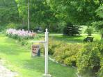 Street View of our Front Yard on Bayshore Drive, a Wisconsin Designated Scenic Road.