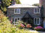 MILL COTTAGE, character holiday cottage, with a garden in Tintagel, Ref 981