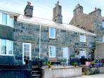 BODLONDEB, family friendly, character holiday cottage, with open fire in Harlech, Ref 2234