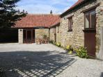 THE OLD COACH HOUSE, family friendly, character holiday cottage, with a garden in Thornton-Le-Dale, Ref 1754