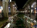 WE ARE CONNECTED TO THE ALA MOANA SHOPPING CENTER, AMERICA'S LARGEST OUTDOOR MALL