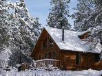 Let It Snow: in the wintertime, the Black Hills becomes a picture-perfect postcard.