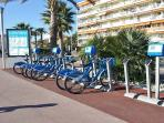 Rent a bicycle in Cagnes-Sur-Mer, leave it in another city if you wish