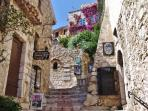 Eze, nearby medieval village famous for its beauty and charm