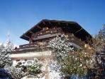 Superbly located Ski Chalet with wonderful views.