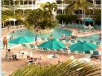 Morrit\'s Tortuga Club Pool with swim-up bar and good times