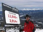 This could be you at the top of Breck.