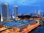KL Central - Main Hub, Trains, Buses, Taxis, Monorails, 3 stations away from Bukit Bintang Monorail