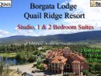 Borgata Lodge  Resort Condos - Studio,1 & 2 BR