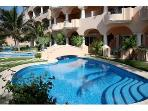 Beach front Pool with steps for easy access