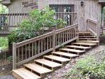 Steps to Cabin