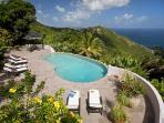 Enjoy the ocean views from this 10- acre property. MAT CAN